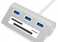 [아마존]Sabrent Premium 3 Port Aluminum USB 3.0 Hub