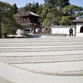 일본 교토 은각사