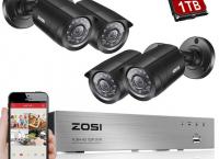 [알리]ZOSI 8CH CCTV 시스템 4 개 ($116.59 /무료배송)