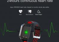 혈압측정 가능한 다기능 스마트 시계 ($25.69 /무료배송)