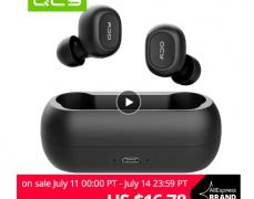 짐 할인중! Qcy qs2(t1s) tws 블루투스 v5.0 이어폰 ($17.78/무료배송)