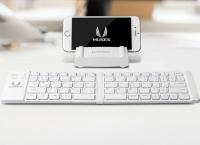 휴대용 접이식 스마트폰 키보드 간편하고 엣지있는 디자인 다양한 OS 완벽호환