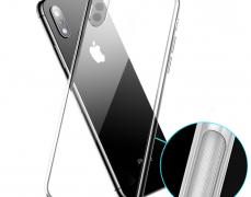 아이폰 갤럭시 미끄럼방지 논슬립 범퍼 투명케이스