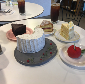 망원동 카페 디어미 케익