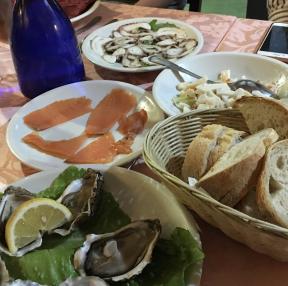 이탈리아에서 먹었던음식
