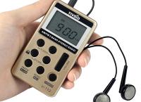미니 포켓 휴대용 라디오 ($11.72)