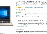 (끌올) [Amazon] ASUS 15.6-inch Full-HD Laptop (Core i5, 8GB RAM, 256GB SSD) with Windows 10($549.99/Free)