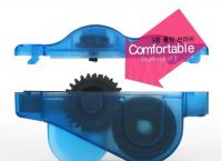자전거 체인 청소기 도구 세트 & 반 손가락 장갑