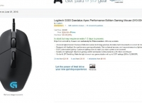 [Amazon](끌끌올) 프라임전용  Logitech G303 Daedalus Apex Performance Edition Gaming Mouse (910-004380) ($24.99 / Prime FS)