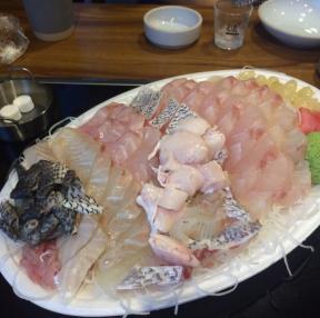 여름에먹은 민어회