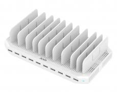 Alxum 10포트 USB 충전기 할인코드 적용시$32