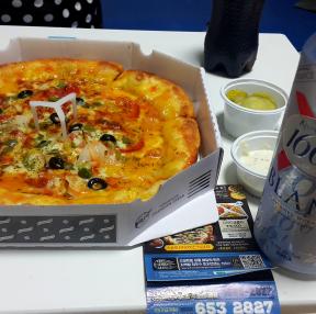 피자 먹읍시다