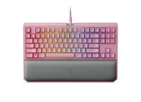 Razer 레이저 게이밍 키보드 (핑크) 할인가 $124.99