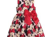 (알리)Wasailong 아이들 미키미니 모양의 드레스 $6.99
