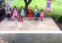 미국의 초등학교 개학반응