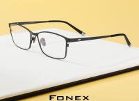 알리] Fonex 순수 티타늄 안경테 ($18.8 / 무료배송) Gafas Oculos 8505