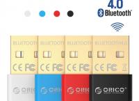 Orico usb 4.0 블루투스 어댑터 동글이 ($3.59 /무료배송)