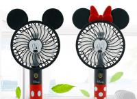 미키마우스와 미니마우스 휴대용선풍기 최저가 19,900원 (무배)