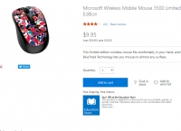 [microsoftstore] (끌올-합배용) Microsoft Wireless Mobile Mouse 3500 Limited Edition ($9.95, Free)