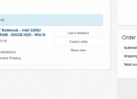 """[끌올][ebay] Lenovo B50 15.6"""" Notebook - Intel 3205U Dual-Core - 4GB RAM - 500GB HDD - Win10 ($179.99/FREE)"""