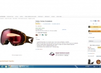 [Amazon] Oakley Canopy & Electric EG 2 Goggles ($42.15&$85.00/Free, 한국직배가능)