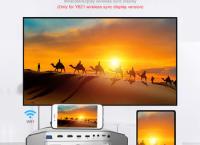 [알리프로모션코드] 58%할인 AAO 고해상도 1080p 풀 HD 프로젝터 YG620 LED