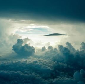 컴퓨터 배경화면 하늘 구름