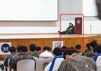동원예비군 교육 현장...  갑오브갑