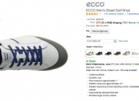 [AMAJON] ECCO Men's Street Golf Shoe(74.99$,무료)