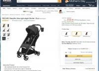 [amazon] recaro Easylife Ultra-Lightweight Stroller ($159.99/FS)