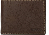 리바이스 남자지갑 Extra Capacity Slimfold Wallet,Brown