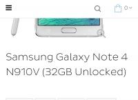 [dailysteals] 2G용 Galaxy Note 4 Verizon Unlocked ($299.99/FS)