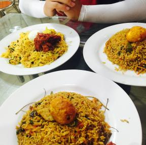 인도음식!