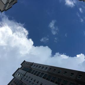 구름 사이