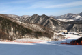 눈 내린 후 스키장