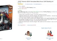 [AMAZON] LEGO Technic 42043 Mercedes-Benz Arocs 3245 Building Kit ($181.29/FREE)