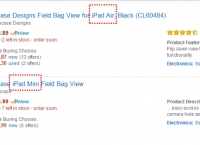 [amazon] Incase - Field Bag View  1.iPad Air  / 2. iPad Mini (1.$18.89, 2.$46.99/ 프라임Free)