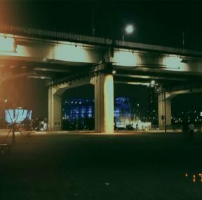 어제자 한강 야경