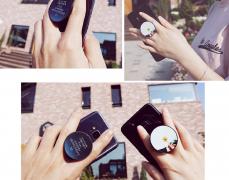 핸드폰 악세사리(거치대) 스마트톤 디자인주문제작