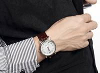 [Amazon]Jiusko Mens Classic Analog Quartz Dress Wrist Watch ($98/ 프라임 무료)