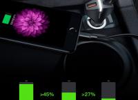 Baseus 듀얼 USB 자동차 고속충전기 $7.88 (8,500원) /무료배송