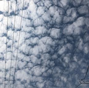 구름이쁘네요