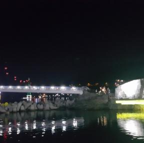 부산 송도 밤바다와 케이블카~~~~^^