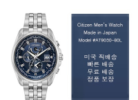 CITIZEN 시티즌시계 에코드라이브 AT9030-80L ($218, 원화234,459원 /무료배송)