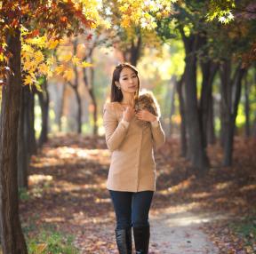가을이 오는 길목에서...