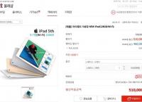 아이패드 5세대 NEW iPad 129GB wifi