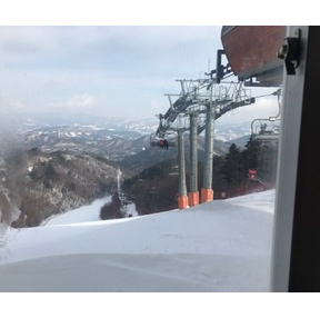 작년 스키장
