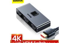 [알리] 베이스어스Baseus 4K HDMI 분배기 스위치 ($8.24 /무배)