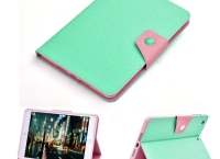 [amazon]Kinps® for iPad Mini 1/2/3 Multicolor Smart Case Green($1/prime fs)