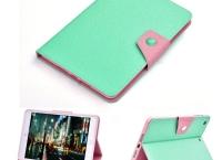 [amazon]Kinps® for iPad Mini 1/2/3 Multicolor Smart Case Green($1/prime fs)